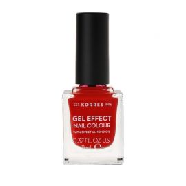 Korres Gel Effect Βερνίκι Νυχιών Royal Red No53 11ml