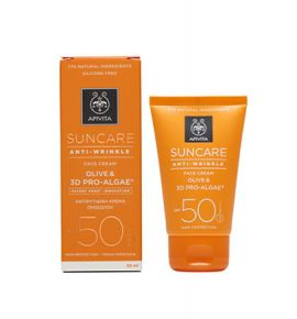 Apivita Suncare Anti-Wrinkle Face Cream SPF50 50ml