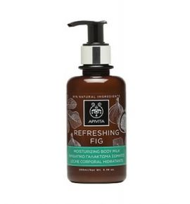 Apivita Refreshing Fig Moisturizing Body Milk 200ml