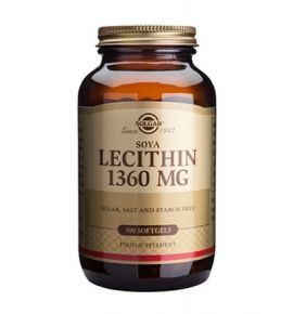 Solgar Lecithin 1360mg softgels  100s