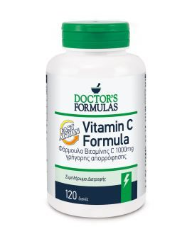 Doctor's Formulas Vitamin C 1000mg Fast Action 120tabs