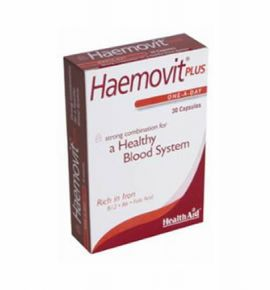 Health Aid Haemovit Plus -blister 30 tabs