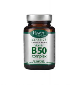 Power Health Platinum Vitamin B50 Complex 30s