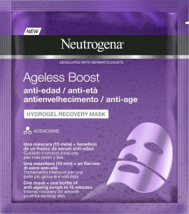 Neutrogena Ageless Boost The Smart Smoother Hydrogel Μάσκα Αναδόμησης 30ml