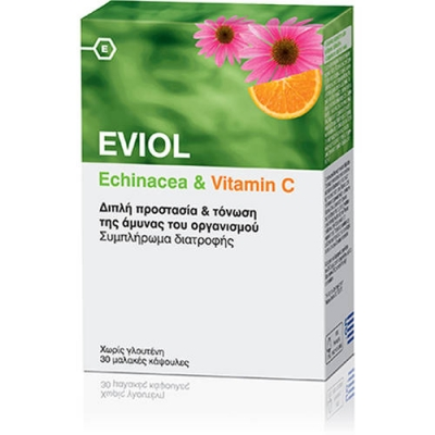 Eviol Echinacea and Vitamin C 30 caps