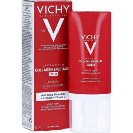 Vichy Liftactiv Collagen Specialist SPF25 with Anti-Aging Biopeptide, Hyaluron & Vitamin C 50ml