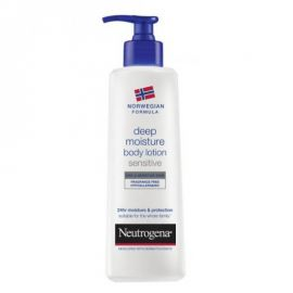 Neutrogena Deep Moisture Body Lotion Dry & Sensitive 400ml Χωρίς Αρωμα