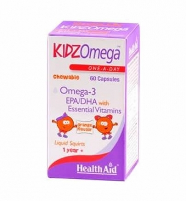 Health Aid KIDZ Omega 60 caps - Orange
