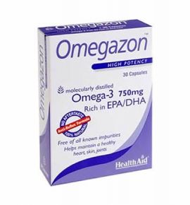 Health Aid OMEGAZON 750mg 30 caps -blister