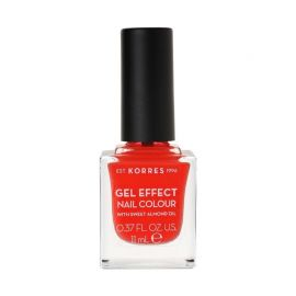 Korres Gel Effect Βερνίκι Νυχιών Coral No45 11ml