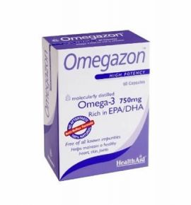 Health Aid OMEGAZON 750mg 60 caps -blister