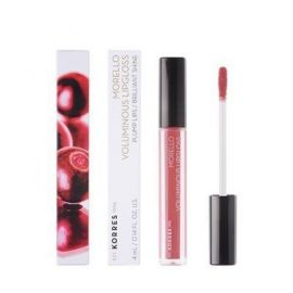 Korres Morello Voluminous Lipgloss Nο16 Blushed Pink 4ml