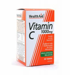 Health Aid Vitamin C 1000mg Prolonged Release 30 tabs