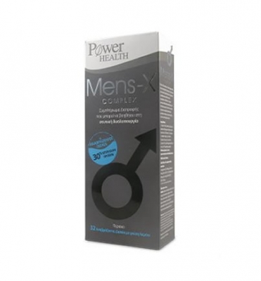 Power Health Mens-X complex, 32s ΑΝΑΒΡ.