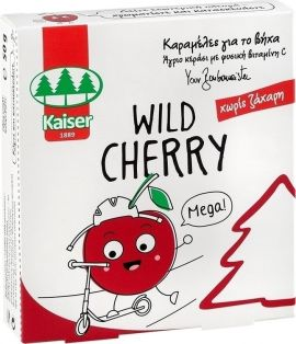 Kaiser Wild Cherry Children's Anti Cough Caramels 50gr