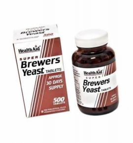 Health Aid Brewers Yeast ( Μαγιά Μπύρας) 500 tabs